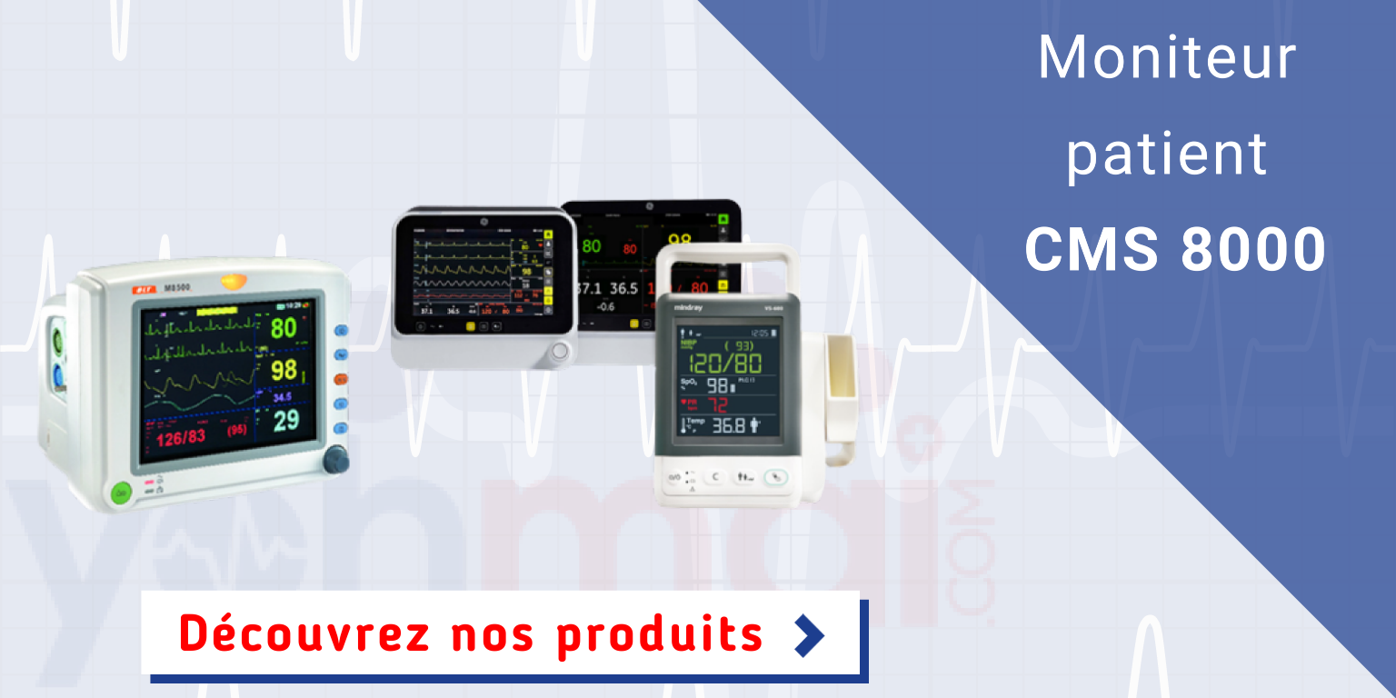 Moniteur patient CMS 8000